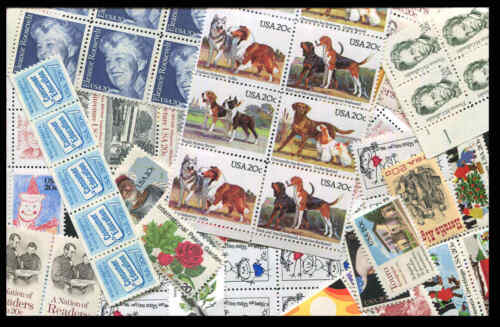 US DISCOUNT Postage 100 20¢ MNH  $20.00 Face Selling For $13.90