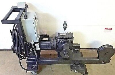 Wenger Jr Clancy Mobile Capstan Hoist Winch 018-416 Theater Stage Rigging