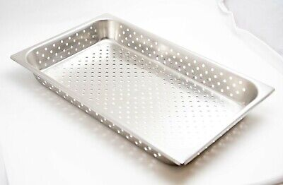 Stainless Steel Perforated Medical Instrument Tray 21 34 X 12 12 X 3