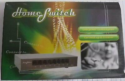 8 Port Switch for Router and Modem Internet Splitter Home Networking New (8 Port Modem Router)