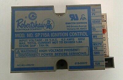 Robertshaw Sp715a Ignition Control Module 0545 D1