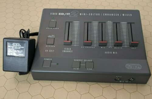Sima ED/IT 2 Mini-Editor / Enhancer / Mixer with Power Adapter