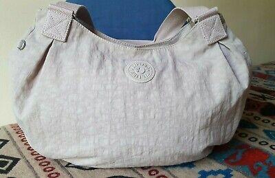 Kipling Grapevine Handbag Large Multi Pockets Shoulder Bag Light Tote Hobo NWOT