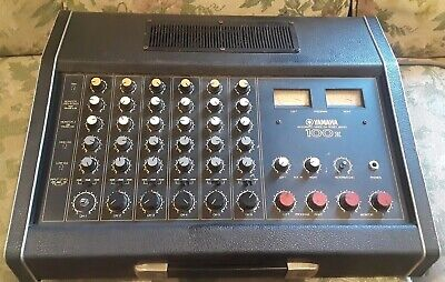 Yamaha EM-100 II, 6 Channel Mixer, Power Amp, W/ Spring Reverb & EQ * VINTAGE