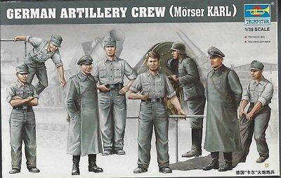 Trumpeter German Artillery Crew KARL Morser Kit for sale  Batavia
