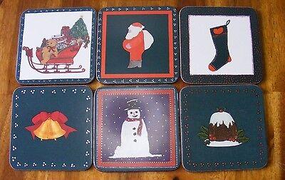 Подставки Pimpernel assorted Christmas designs 6