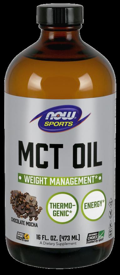 MCT Oil, Chocolate Mocha Now Foods 16 fl oz Liquid