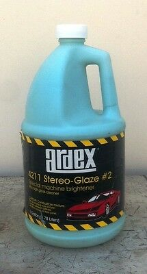 ardex 4211 stereo glaze 2 ultra high polish 1 gal new ebay. Black Bedroom Furniture Sets. Home Design Ideas