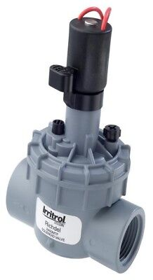 Toro SOLENOID VALVE WITH FLOW CONTROL 2400MTF 25mm Threaded Bonnet,Double Beaded