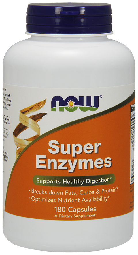 NOW Foods Super Enzymes Health Digestion Nutrient Availabili