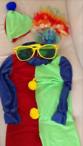 Clown halloween costume for kid