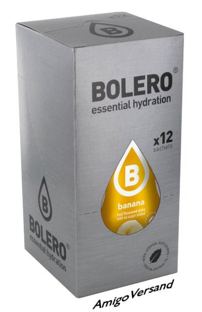 Bolero DRINKS – Bolero Banana (Banane) - 12 Beutel für 18-36 Liter