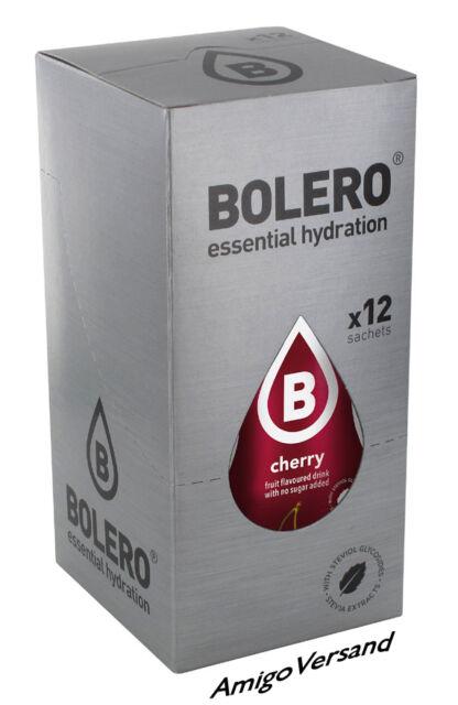 Bolero DRINKS – Cherry (Kirsche) - 12 Beutel für 18 Liter Getränk