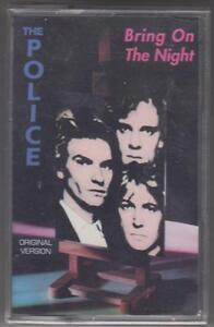 THE-POLICE-cassette-tape-BRING-ON-THE-NIGHT-sealed-Overload-Italy