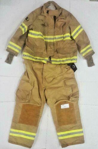 Janesville Lion Firefighter Turnout Bunker Set Jacket 50x32 Pants 50R 50x30 S64