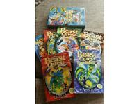 6 x Beast Quest Books
