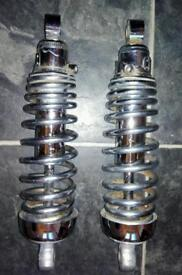Yamaha XV750 Virago rear shocks