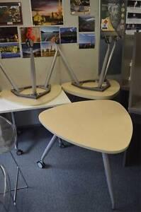 Small Office Desks on Castors Auburn Auburn Area Preview