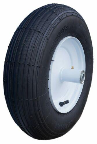 NEW - 4.80/4.00-8 4 Ply, Rib Tread, Wheelbarrow Tire & Wheel Assembly CT1004