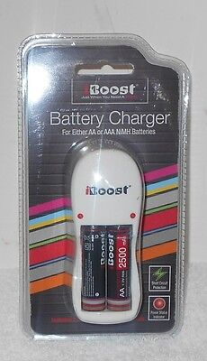 BOOST BATTERY CHARGER 2 - AA OR AAA