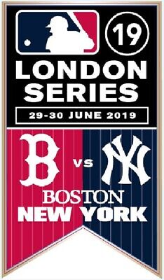 2019 NY YANKEES BOSTON RED SOX LONDON GAME PIN SCARCE COLLECTIBLE HISTORIC EVENT - Boston Red