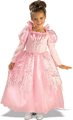 Deluxe Girls Pink Princess Costume Gown Fancy Dress Child Fairy Tale M Kids NEW](Deluxe Fairy Costume)
