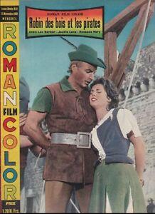 Roman Film Color N 11 1961 Robin des Bois et les Pirates Lex Barker J