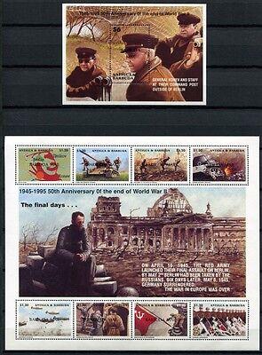 Barbuda 1996 Kriegsende 2. Weltkrieg Reichstag World War 1874-81 Block 274 MNH