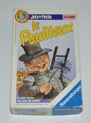 LE POUILLEUX Ravensburger French Card Game (Old Maid) 1993 complete