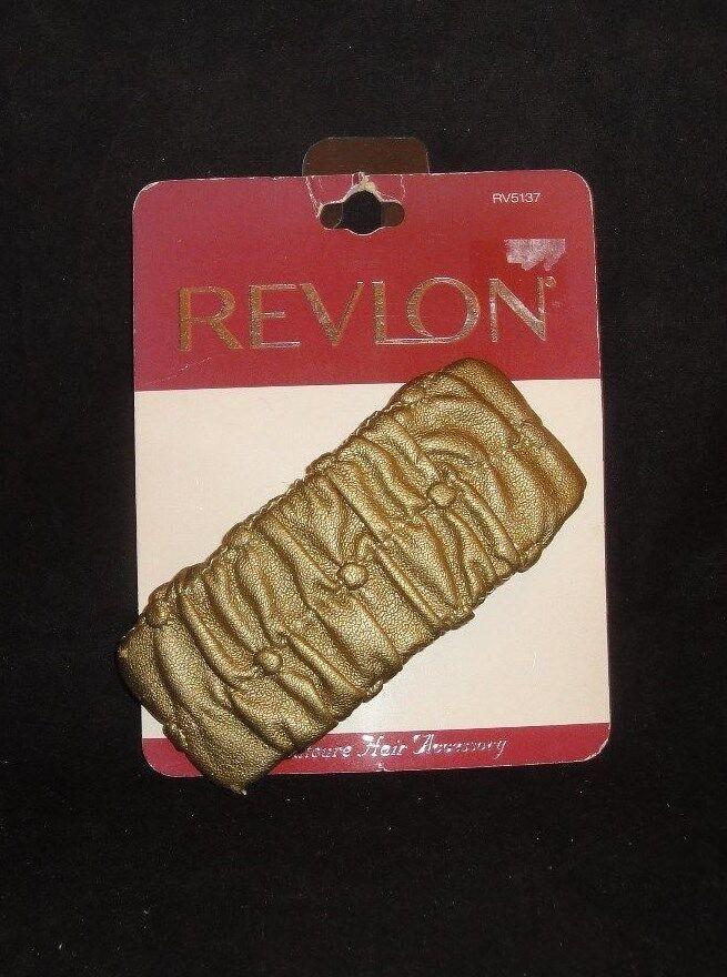 Revlon Coutoure Hair Accessory Gold Clip #RV5137