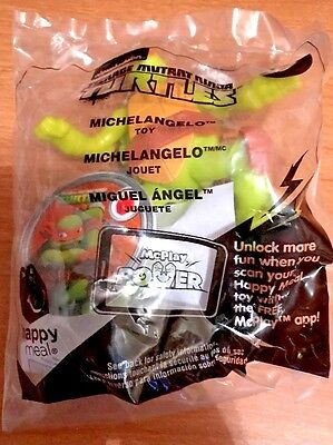 *2017*Teenage Mutant Ninja Turtles* McDonalds* Happy Meal Toy* #7 Michelangelo*