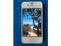 Apple iPhone 4s 16GB in White - Locked to 3 Network