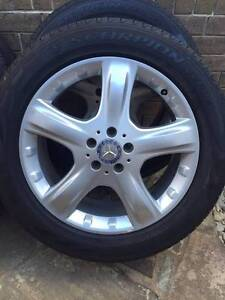 "Mercedes 19"" ML320 W164 Wheels Tyres 255 50 19 Laverton Wyndham Area Preview"