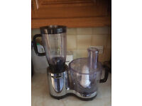 Kenwood blender with two blenders/ liquidiser ideal for dinners or soups baby food