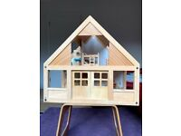 Two storey Doll's house , Furniture and Dolls