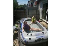 5 MAN inflatable dinghy