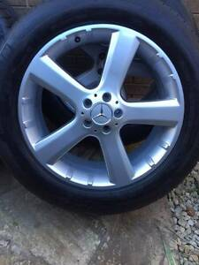 """Mercedes ML GL 20"""" ML500 GL500 Wheels MICHELIN Tyres 275 50 20 Point Cook Wyndham Area Preview"""