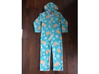 Disney Frozen Elsa Hooded Pyjamas size 6 - 7 years