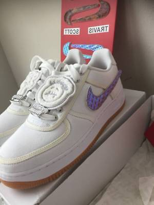 Nike Air Force 1 Low Travis Scott AF100 AF1 White ConplexCon AQ4211-100  IN HAND