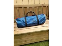 Never used spacious blue Easy Camp Eclipse 500 tent. Super item indeed for camping.