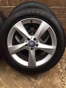 "Mercedes 19"" ML320 ML500 W164 Wheels 100% Tyres 255 50 19 Melbourne CBD Melbourne City Preview"