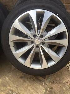 "Mercedes ML 20"" ML 320 ML500 Wheels Rim Tyres 255 45 20 W164 W166 Laverton Wyndham Area Preview"