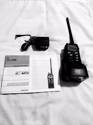 ICOM VHF Marine Transceiver with charger