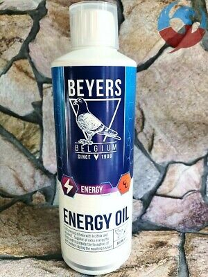 BEYERS BELGIUM ENERGY OIL 400ml PIGEONS BOOST MOULTING RACING FLYING BREEDING YB
