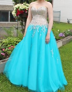 Light Blue Prom Dress For Sale!!