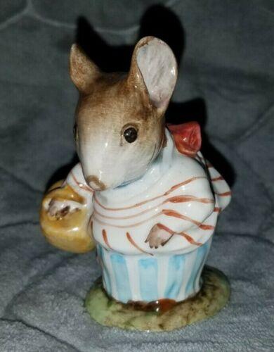 Vintage Beatrix Potter Mrs. Tittlemouse Porcelain Figurine Beswick England 1948