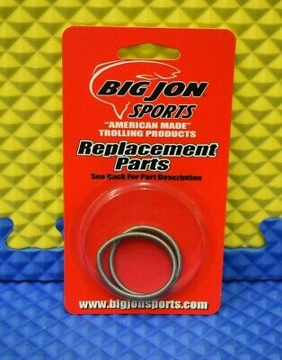 2-Pk BiG JON Downrigger Parts KT51074 Black Rod Holder Caps