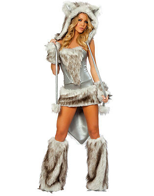 Costume She-Wolf Wolf Wolf Halloween Carnival Size M (36-38) Lingerie Sexy - She Wolf Costume Halloween