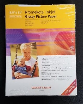 (Kromekote Inkjet Glossy Picture Photo Paper Heavy Weight 95 Sheets)