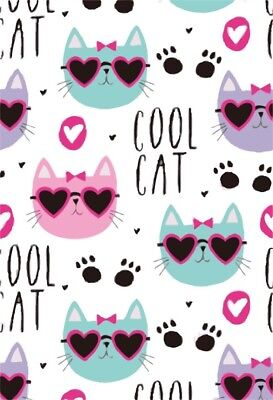 5X7ft Cute Cool Cats Photography Backgrounds Cartoon Vinyl Photo Backdrops Props